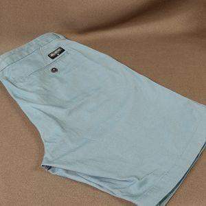 Billabong flat front bermuda shorts 34